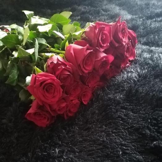 Розы голландские 29 Шт: букеты цветов на заказ Flowwow
