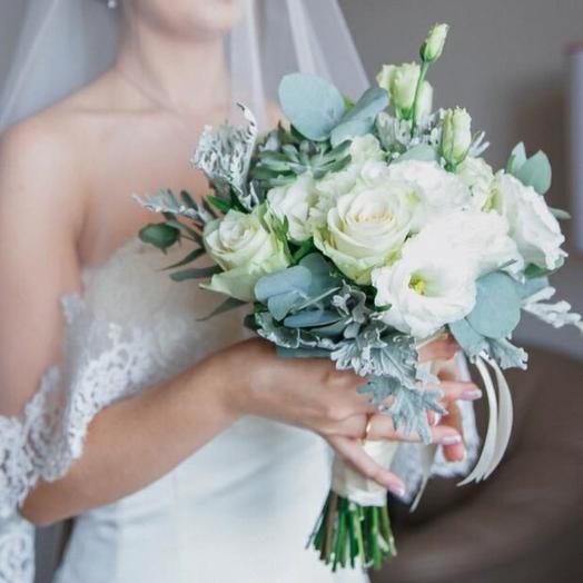 Букет невесты 1: букеты цветов на заказ Flowwow