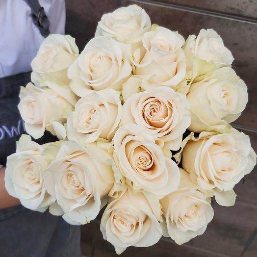 Монобукет Vendela роза одноголовая 50 см — 15 шт под ленту