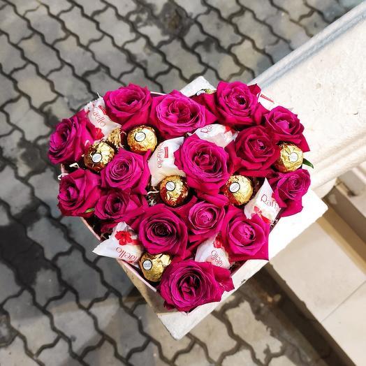 ✅ Композиция love is Ferrero Rocher и Raffaello