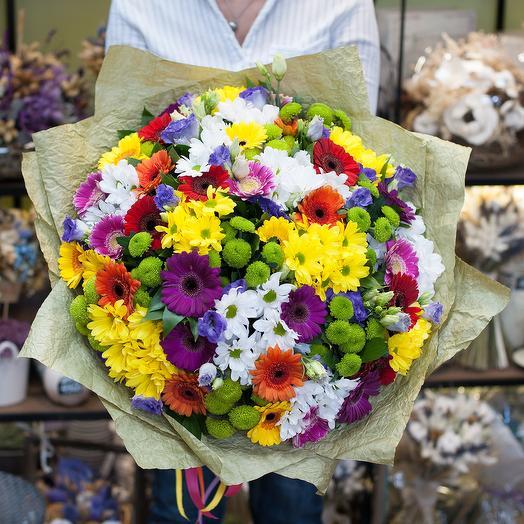 Букет цветов Забава