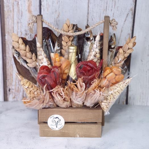 Букет и морских деликатесов