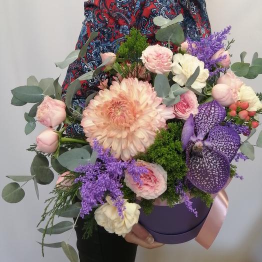 Цветы в коробке XXL