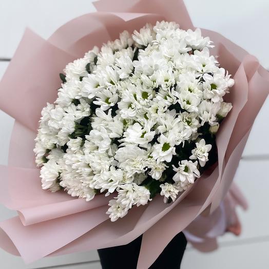 Букет цветов «Ромашковый рай»