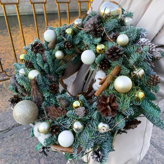 Венок рождественский «Скандинавия»