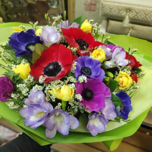 Букет цветов Весна