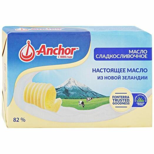 Масло Anchor сладкосливочное несоленое  400 гр