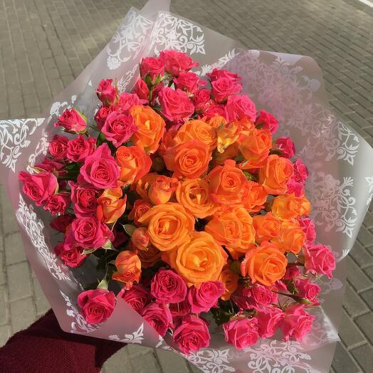 21 роза  «Для Королевы»