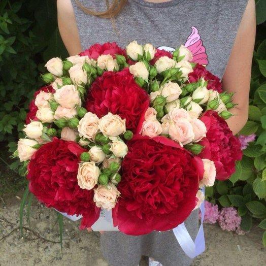Букет в кашпо: букеты цветов на заказ Flowwow