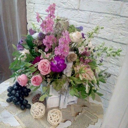 Полевой романс: букеты цветов на заказ Flowwow