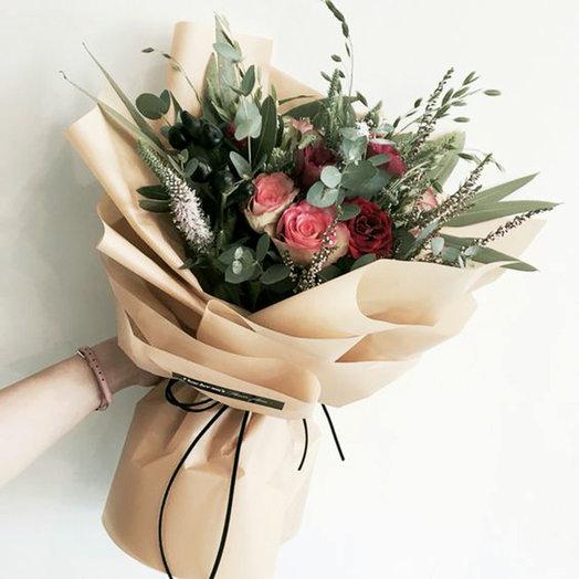 Букет «Шарше ля фам»: букеты цветов на заказ Flowwow