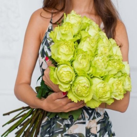 Розы сорт Lemonade (Эквадор): букеты цветов на заказ Flowwow