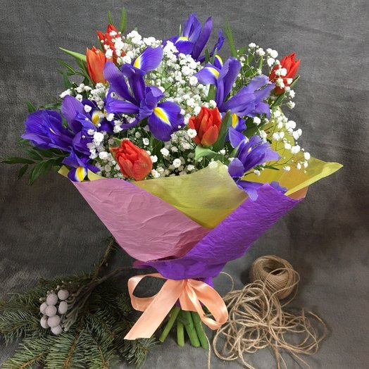 "Букет "" Яркое воспоминание"": букеты цветов на заказ Flowwow"