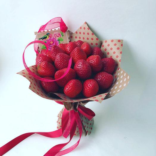 Клубничка : букеты цветов на заказ Flowwow