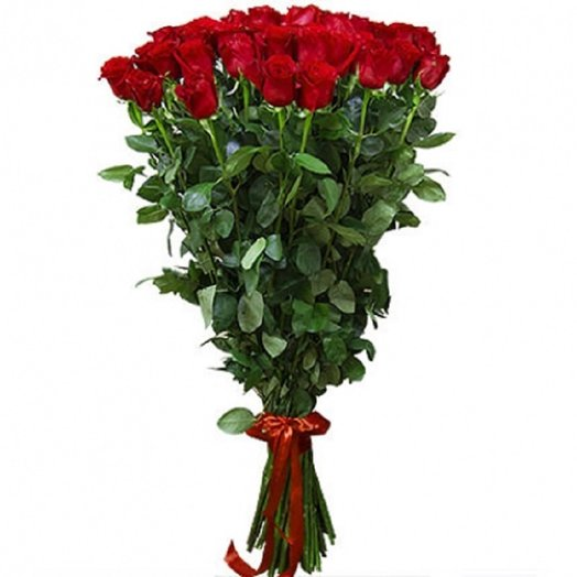 80см 25 Эквадорских роз: букеты цветов на заказ Flowwow