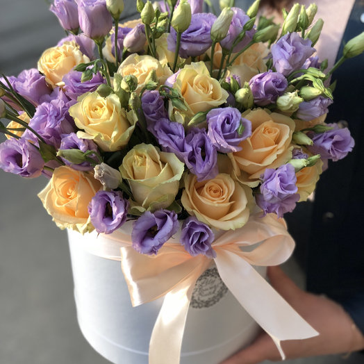Крем-брюле: букеты цветов на заказ Flowwow