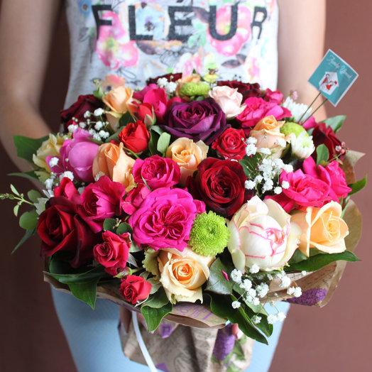 Пестрый: букеты цветов на заказ Flowwow