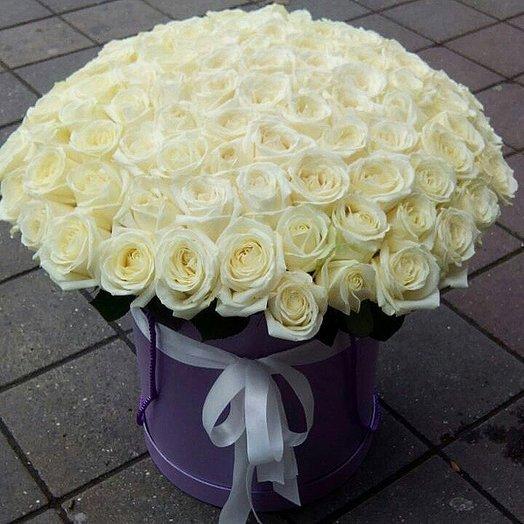 101 Аваланж в коробке: букеты цветов на заказ Flowwow