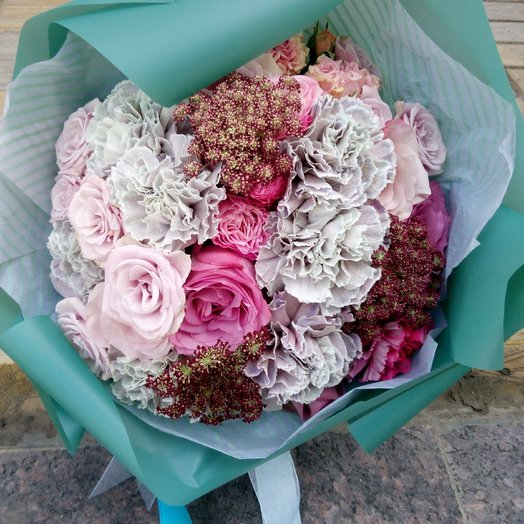 Дикая мята: букеты цветов на заказ Flowwow