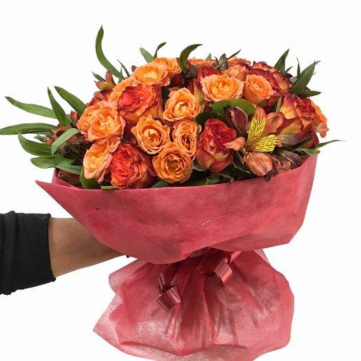 Букет «Наслаждение»: букеты цветов на заказ Flowwow