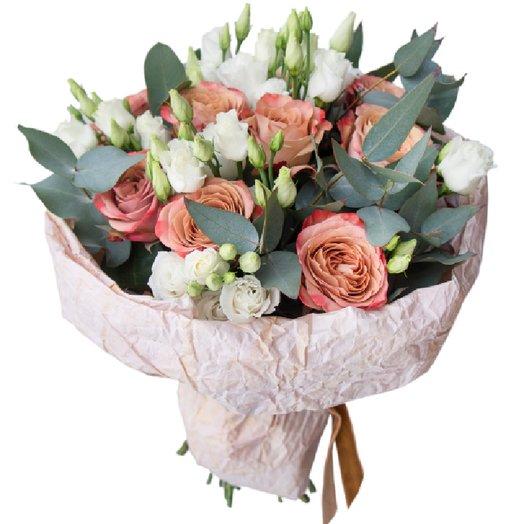 Стильный презент: букеты цветов на заказ Flowwow