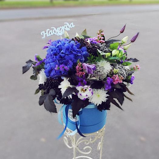 Зимнее небо: букеты цветов на заказ Flowwow