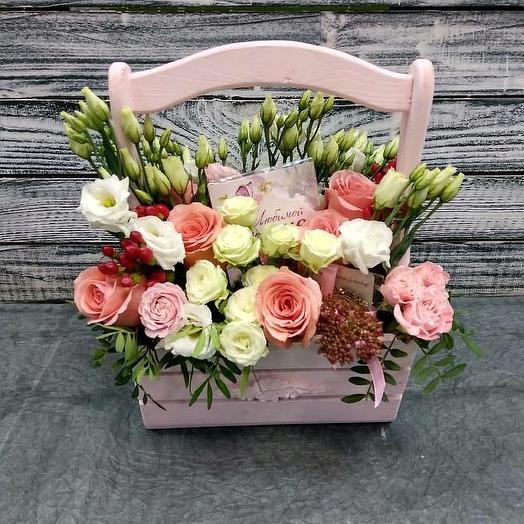 Подарок для мамы.: букеты цветов на заказ Flowwow