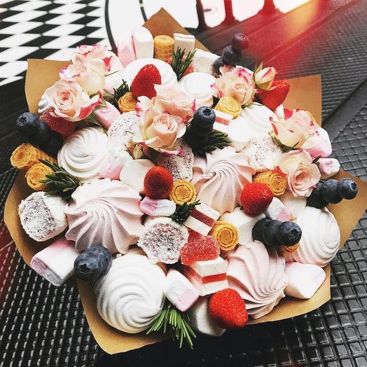 Сладкий букет «милота»: букеты цветов на заказ Flowwow