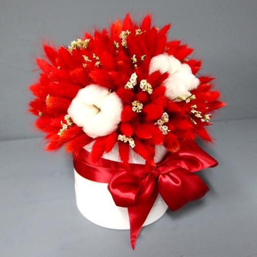 Який букет в шляпной коробке: букеты цветов на заказ Flowwow