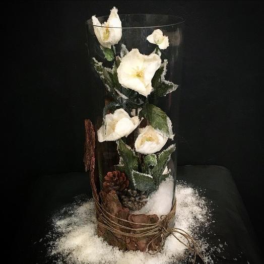 Снежная: букеты цветов на заказ Flowwow