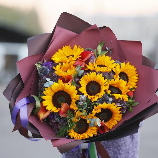 Авторитет: букеты цветов на заказ Flowwow