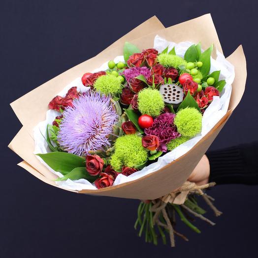 Букет 34: букеты цветов на заказ Flowwow