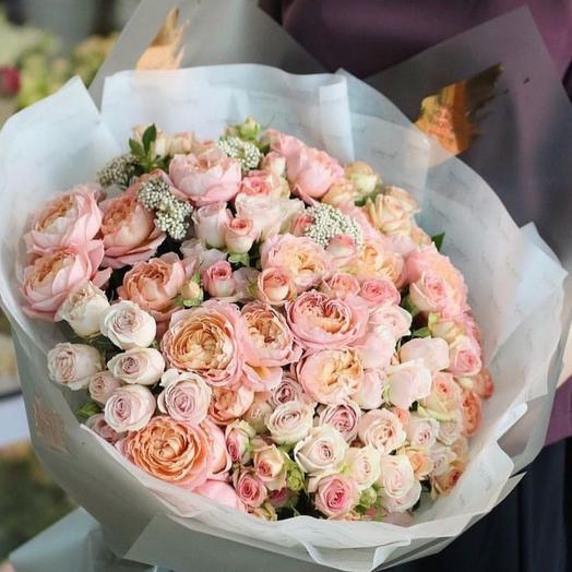 """Букет """"Шекспир"""": букеты цветов на заказ Flowwow"""
