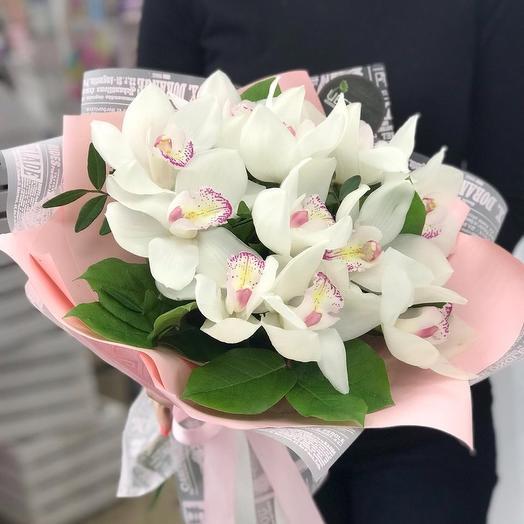 Воздушные орхидейки: букеты цветов на заказ Flowwow