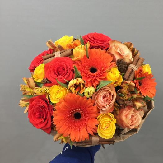 Горячий Глинтвейн: букеты цветов на заказ Flowwow
