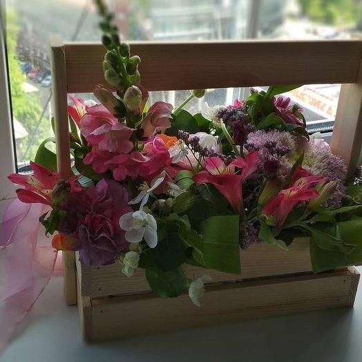 Розовый восход: букеты цветов на заказ Flowwow