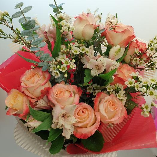 Букет вечера: букеты цветов на заказ Flowwow