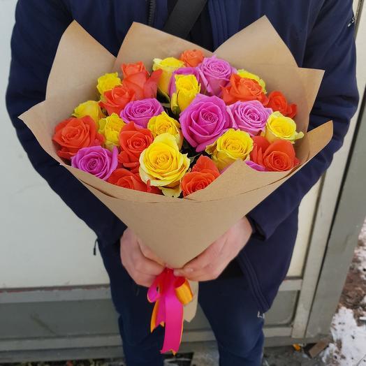 Яркий Букет 29: букеты цветов на заказ Flowwow