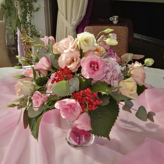 Композиция на стол: букеты цветов на заказ Flowwow