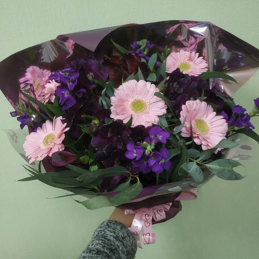 Ароматный глянец: букеты цветов на заказ Flowwow