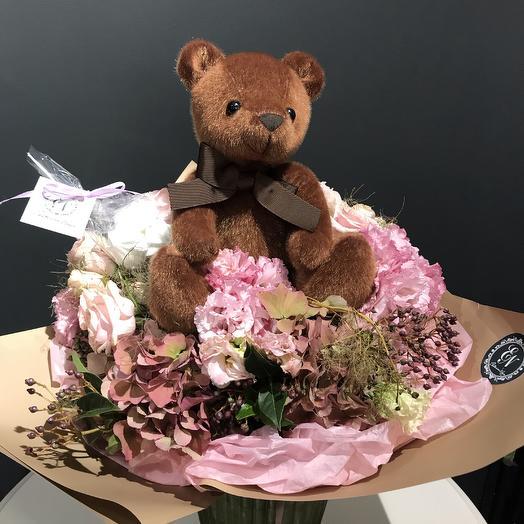 Мими-мишка: букеты цветов на заказ Flowwow