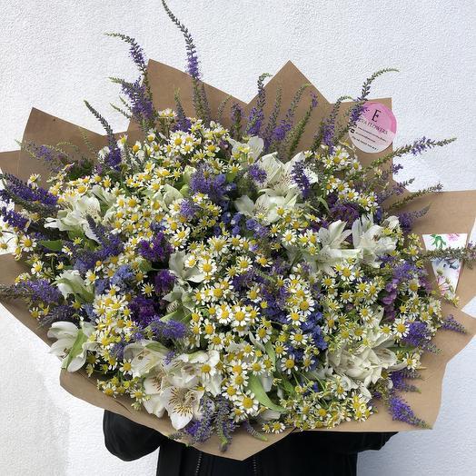 Самый полевой букет: букеты цветов на заказ Flowwow