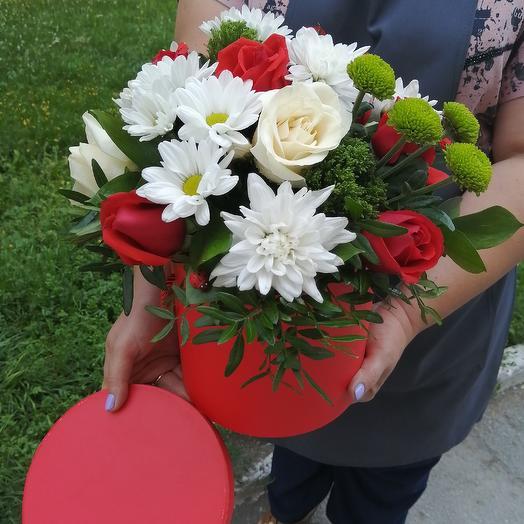 Коробка MIX: букеты цветов на заказ Flowwow
