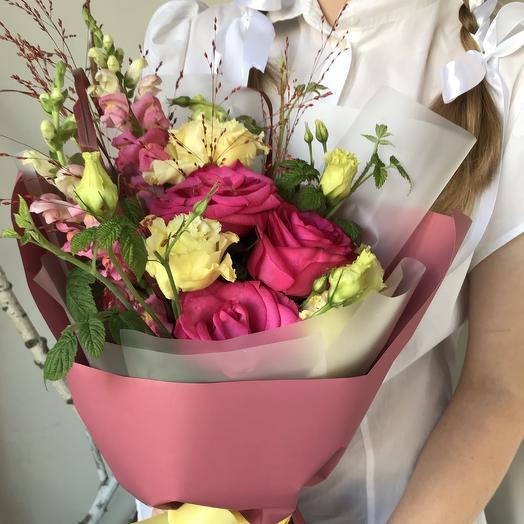Первоклассный букет 23: букеты цветов на заказ Flowwow