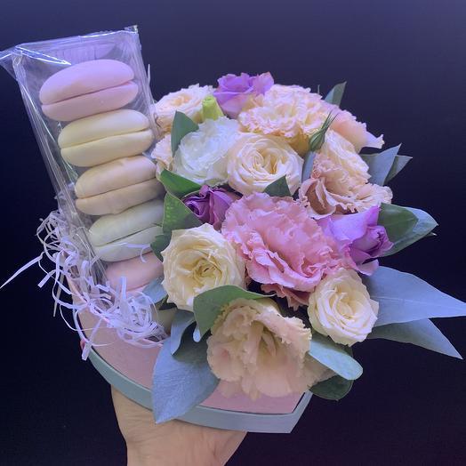 Зефирная радость: букеты цветов на заказ Flowwow