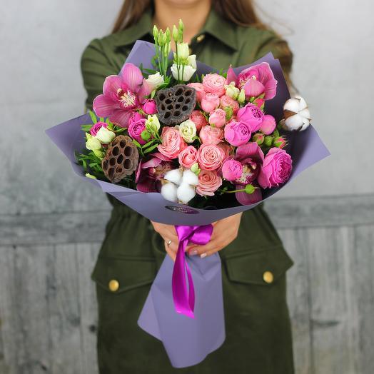Несгораемая любовь: букеты цветов на заказ Flowwow