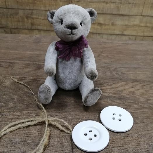 Игрушка ручной работы мишка тедди: букеты цветов на заказ Flowwow