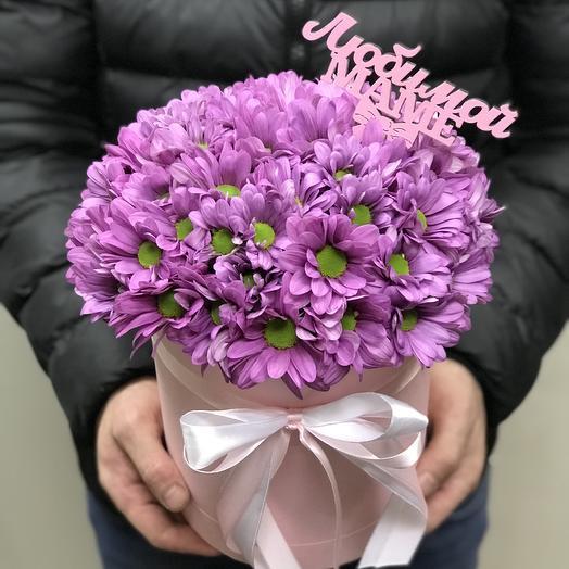 Ароматная хризантема для мамы: букеты цветов на заказ Flowwow