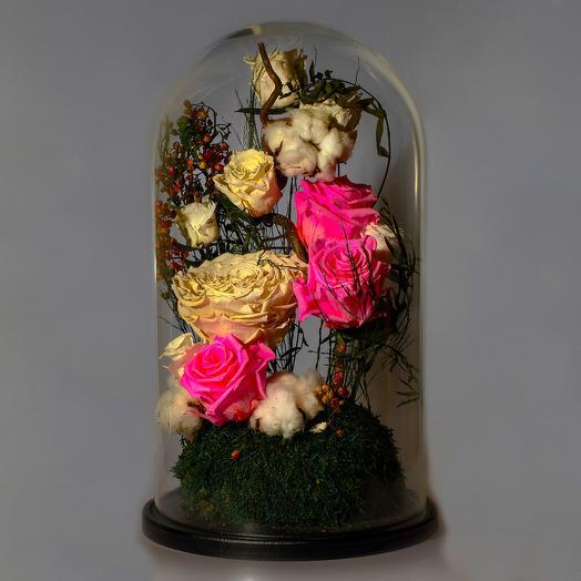 """Композиция """"Ночь в Париже"""": букеты цветов на заказ Flowwow"""