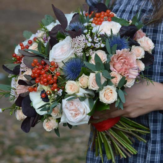 "Букет цветов ""Белый танец"": букеты цветов на заказ Flowwow"